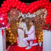 Photos of DJ Mo and Size 8 Reborn Having the Most Romantic Moment That Has Left Many Talking
