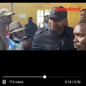 [Video] Rashid Echesa Slaps One of The IEBC Officials After A disagreement At Matungu