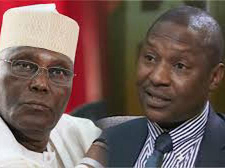 Reaction as Malami says Atiku Can Not Contest For The Office Of The President of Nigeria.