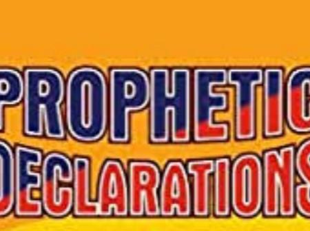Prophetic Declaration For the Month Of April