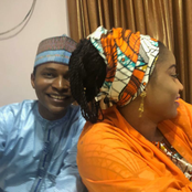 Lovely Photos Of Actress Hafsat Idris With Some Kannywood Male Celebrities