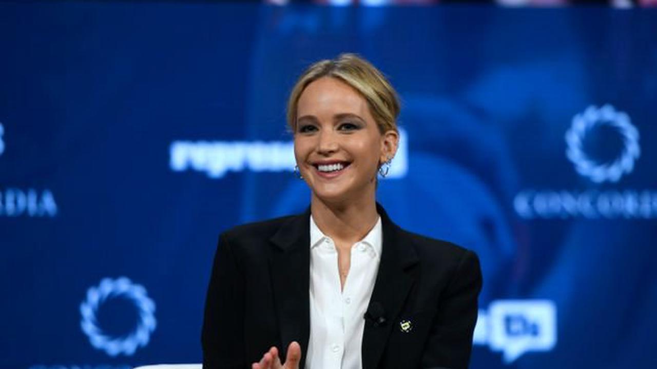 "Jennifer Lawrence, la star de ""Hunger Games"", est enceinte"