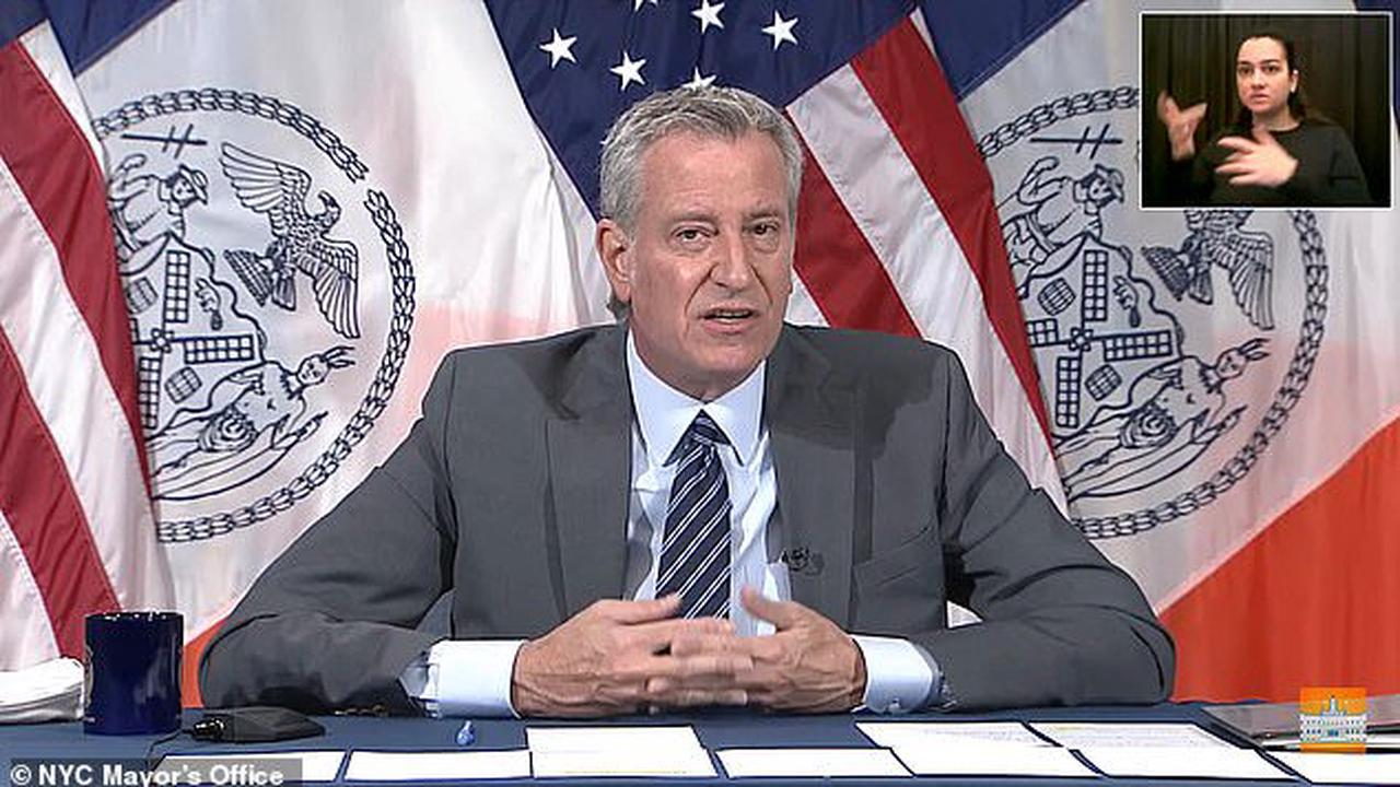 Which is it Bill? Mayor de Blasio walks back claim that 'New Yorkers don't live in fear' and says he meant they 'fight back' after he's ridiculed for soft stance on crime amid violent surge