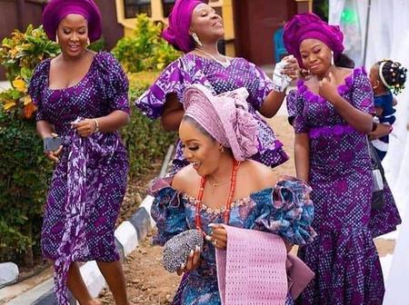 Incredible aso-ebi designs for beautiful Nigerian brides