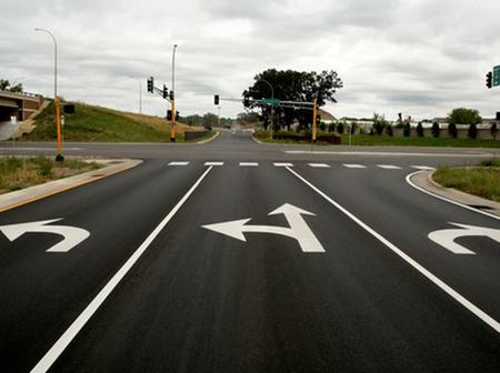 Countries That Take A Short Left On The Road Including South Africa