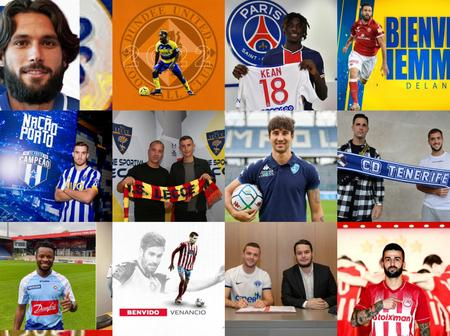 OFFICIAL: 100% Completed, Deadline Official Done Deals, Check Out Whom Your Team Have Signed Today