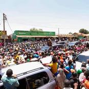 This Is What Governor Joho Was Doing As ODM Leader Raila Odinga Campaigned In The Coast Region