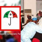 More photos as suspected thugs disrupt PDP North West Congress, see reactions
