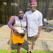 Woman Hawking Bottled Water Gets Donation From Uche Nwosu