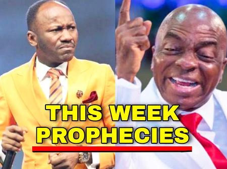 Apst. Suleman and Bishop Oyedepo Release Prophecies For This Week