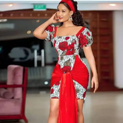 Ladies Check Out These Gorgeous Decent Ankara Long And Short Gown Styles