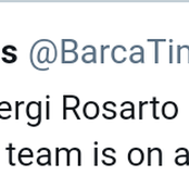 Funny reactions on social media on Sergi Rosarto instead of Sergi Roberto