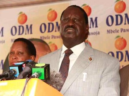ODM Party Could Be Planning A Raila Odinga Candidature As NEC Could Extend Application Period