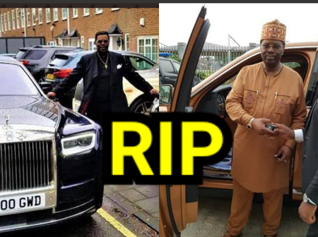 Check Out Photos Of The Nigerian Billionaire Enjoying Life Before He Died Yesterday (PHOTOS)
