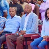 Tangatanga Leaders Who Attended The ICT Centre Launch Alongside Ruto