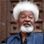 4 Years After Tearing His US Visa, Soyinka Says He Has Forgiven Americans For Voting Trump
