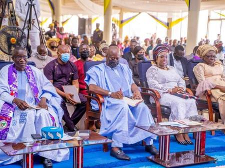 Francis Wale Oke's thanksgiving service as the 7th National President of PFN: Seyi Makinde speaks