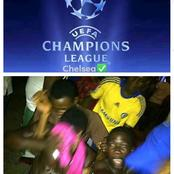 Jubilation as Chelsea qualifies for semi-final of the UEFA champions league