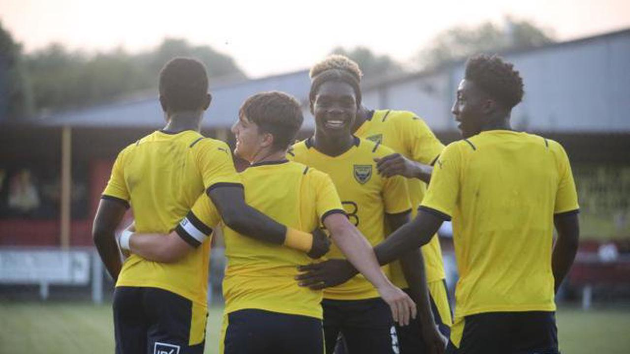 Oxford United's youngsters end pre-season on a high with Thame win
