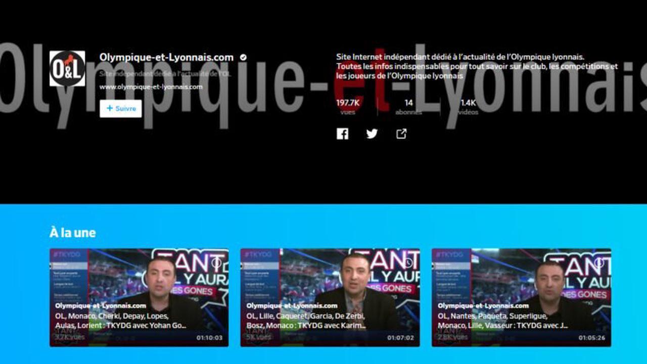 OL: abonnez-vous à notre chaîne Dailymotion