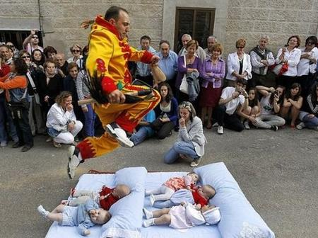 What if somebody makes a mistake and hurts one of the babies? Checkout this festival