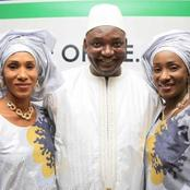Two First Ladies In One Country? Checkout Gambia Where The President Is Married To Two Wives