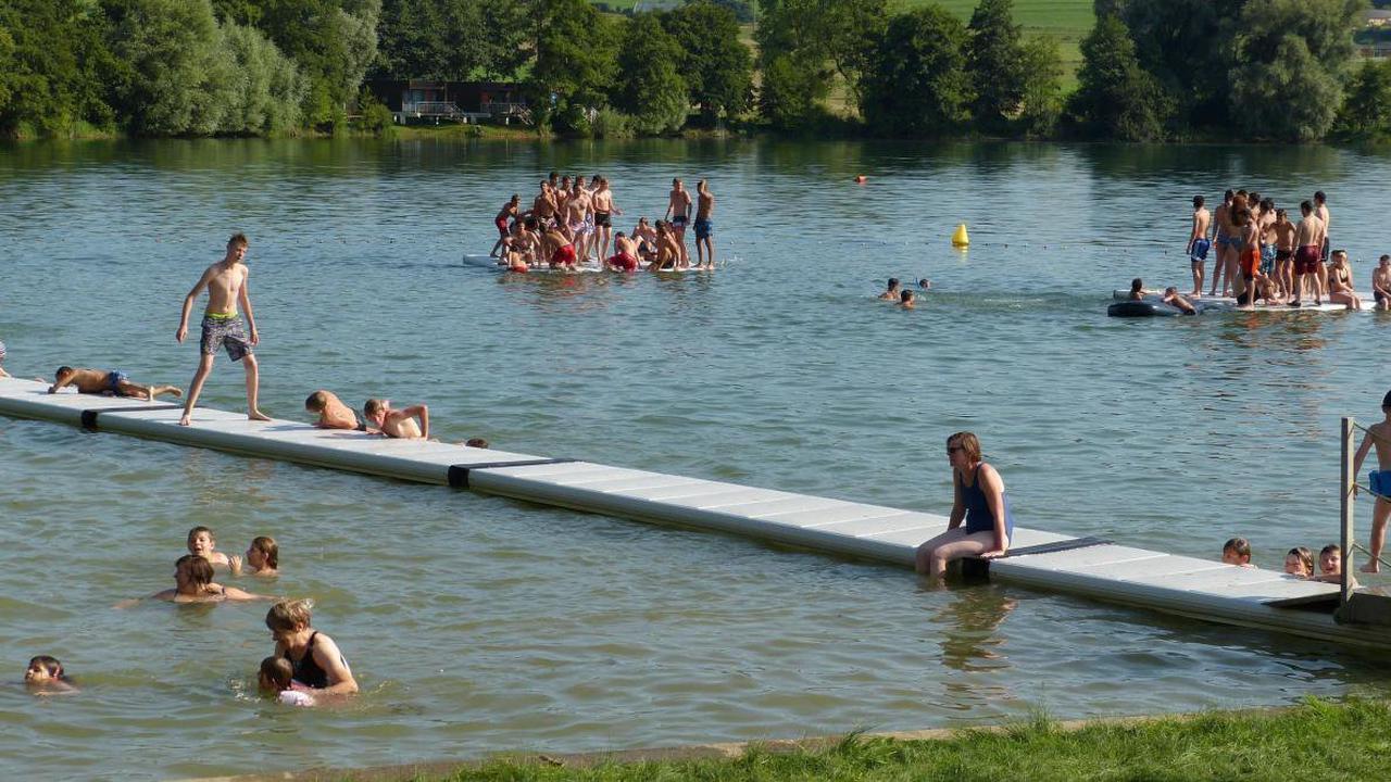 La baignade du Domaine du lac de Douzy a rouvert