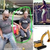 Finally we get to see the face of the men who demolished the house of his ex-girlfriend! See here