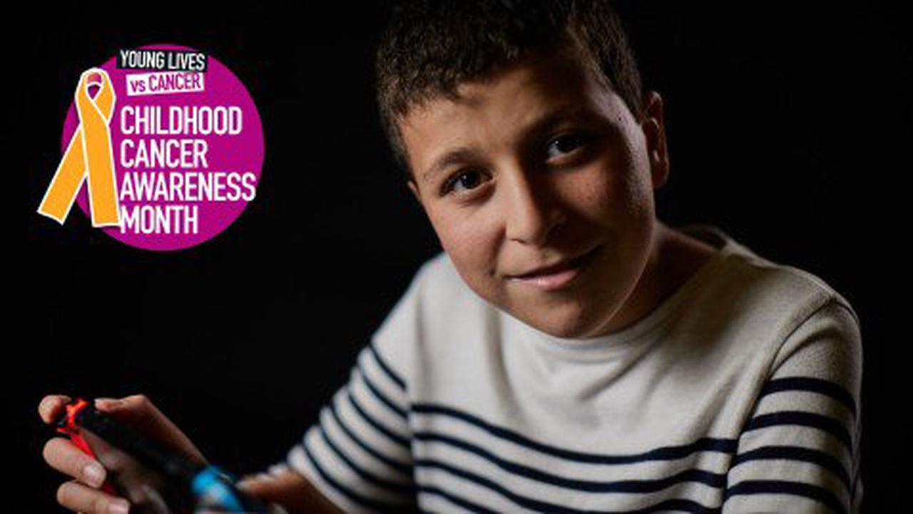 I'm Theo, and when I was 10 I had cancer