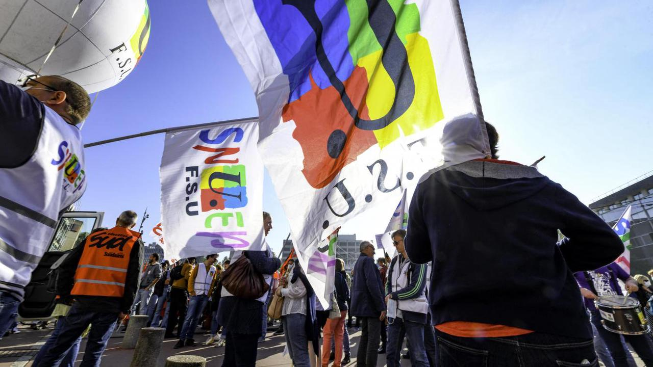 VIDÉO. Les professeurs en veulent plus : plus de postes et plus d'argent