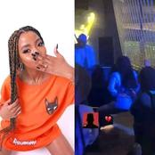 Video of Nelli Tembe twerking in the club while AKA performed arises.