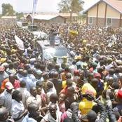 Ruto Received By Wheelbarrow Chanting From Youths in Trans Nzoia (Video)