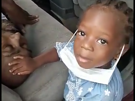 Young Girl Emotionally Prays for Her Sick Father Before Undergoing Kidney Transplant(Photos)