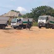 See Photos Of Newly Procured Compactors For Waste Evacuation In Akwa Ibom State By Prince Ikim