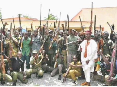 Kogi Hunters Don't Joke, This is What They did to Kidnappers