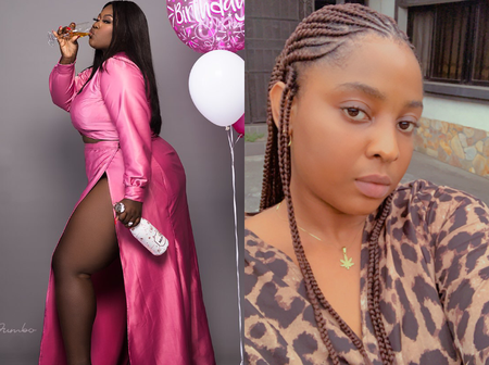 Check Out Video Of Beautiful Lady Who Was Allegedly Caught Stealing Her Friend's Birthday Cake
