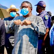 Fikile Mbalula Swallows Pride, Apologizes After Maimane Notices Something Wrong On His Post