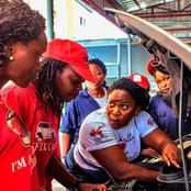 Meet The First Female Mechanic in Nigeria (with pictures)