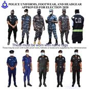 See the dress code of Security Taskforce near your polling station on Monday