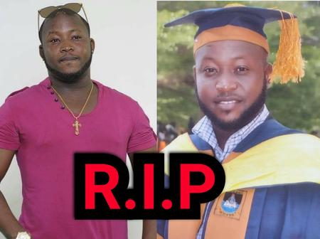 3 Months After Completing His Master's Degree, Popular Nigerian Musician,