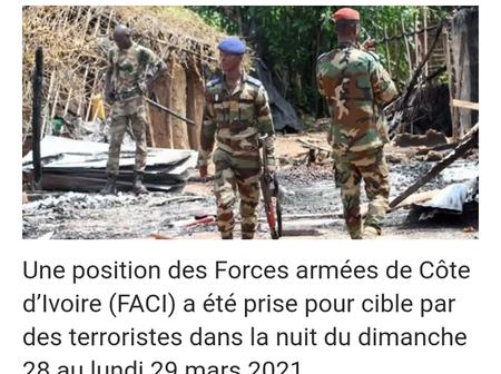 Attaques terroristes en Côte d'Ivoire : la sécurité territoriale menacée, la population indignée !
