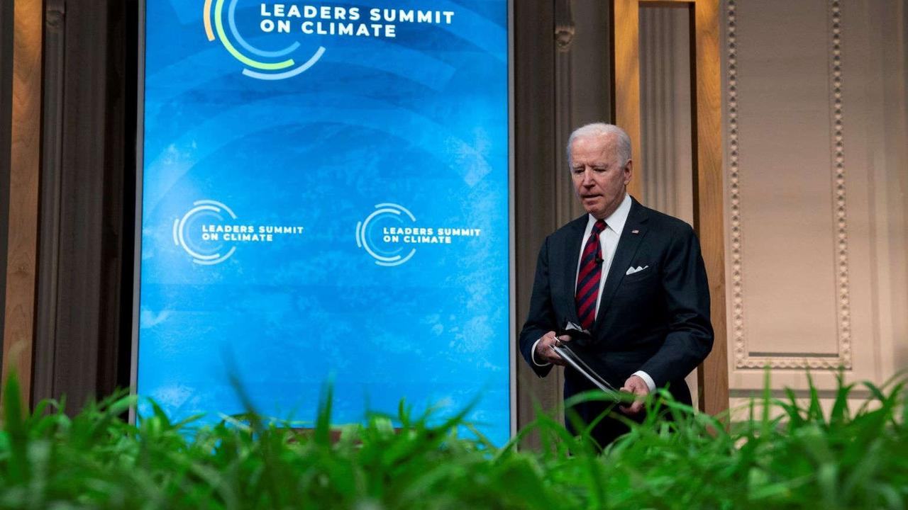 Biden gambles on market momentum to override Republican opposition to bold climate goal