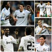 Throwback Photos Of Ozil, Angel Di Maria And Emmanuel Adebayor At Real Madrid