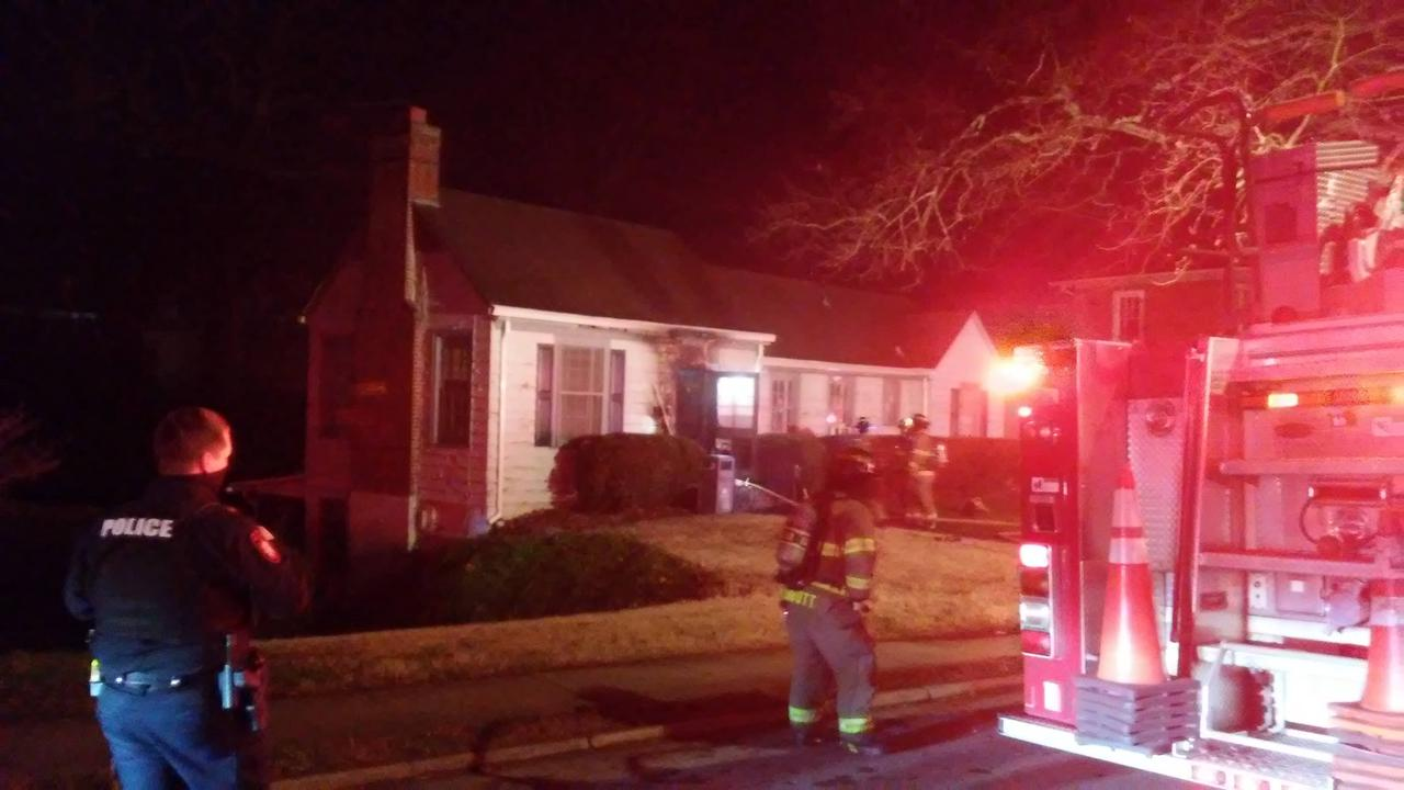 Crews Respond to Structure fire at Averett