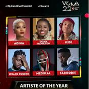 VGMAs 2021: Who Wins Artist Of The Year