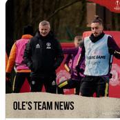 Manchester United Provides Fitness Update On Rashford And Daniel James Ahead Of Granada Game