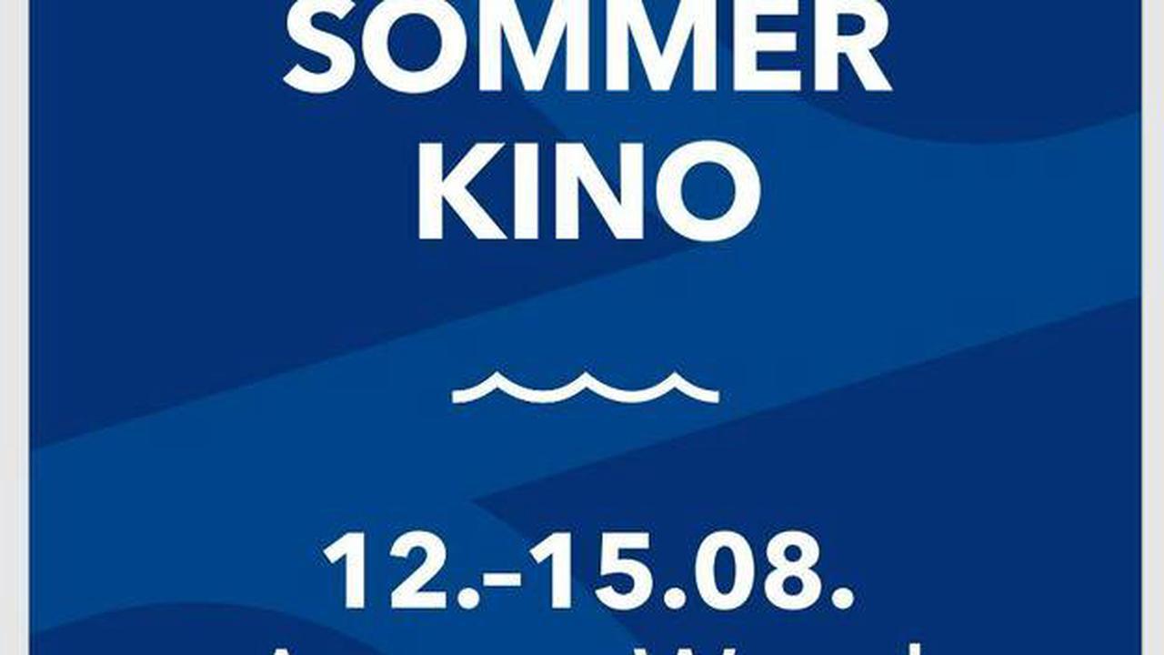 Kino: Sommerkino vom 12. bis 15. August am Auesee
