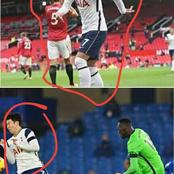 Funny: See photos of Heung-min-son at old Trafford vs Son at Stamford bridge