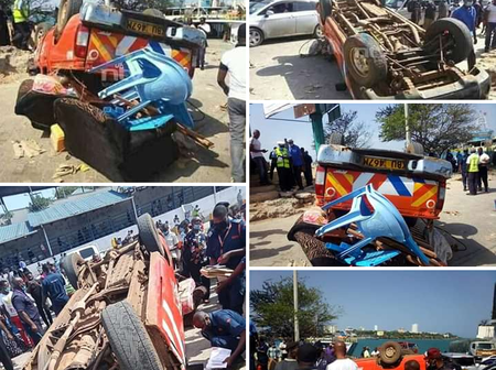 Finer Details of What Exactly Happened Before the Pick-up Overturned at Likoni Channel