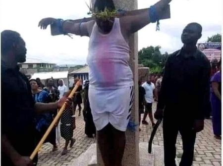 Lady Denies Man who played Jesus in her Community